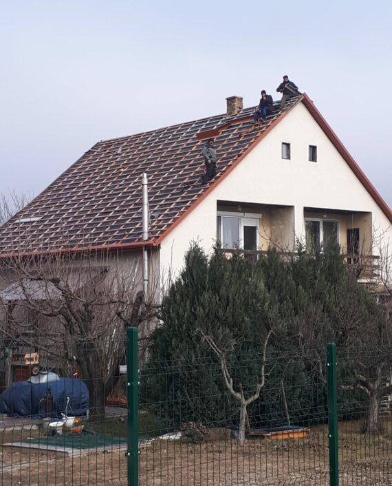 Családi ház tetőfelújítás