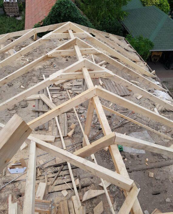 Tetőszerkezet felújítása
